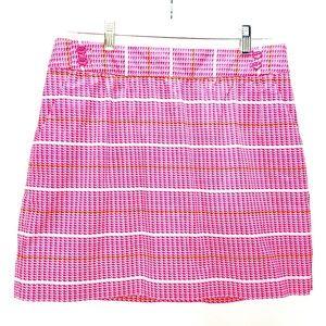 Vineyard Vines Pink Whale Print Skirt Size 6